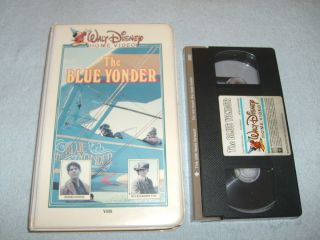 The Blue Yonder VHS 1985 PETER COYOTE HUCKLEBERRY FOX ART CARNEY