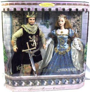 Barbie Y Ken Como Arturo Y Ginebra Reyes de Camelot Oferta Portes