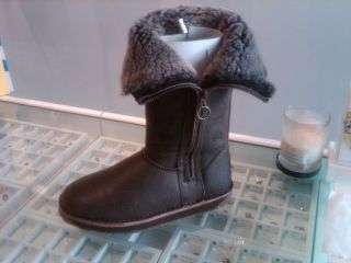 Brand New Authentic Emu Australia Womans Ashby Chocolate Boots All