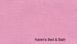 Carnation Pink Girls Custom Sewn Curtain Valance New
