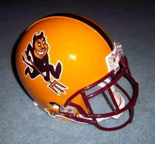 Arizona State Sun Devils Elza Gennicks Game Used Worn 2001 Helmet RARE