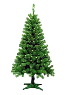 PRE LIT ARTIFICIAL CHRISTMAS TREE / QUICK & EASY ASSEMBLY / 5 FT