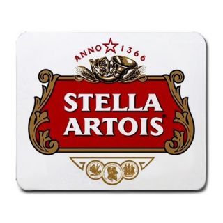 Stella Artois Beer Logo New Large Mousepad