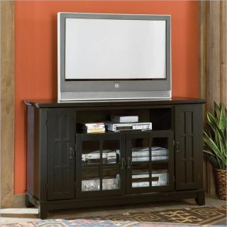 Home Styles Arts Crafts Entertainment Credenza Ebony TV Stand