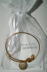 Alex and Ani Seven Swords Expandable Wire Bangle Russian Gold