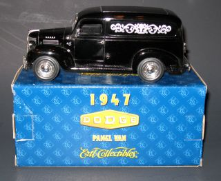 Ertl 1 25 scale 1947 Dodge Askew Houser Funeral Home service car