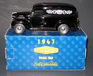 Ertl 1 25 scale 1947 Dodge Askew Houser Funeral Home service car