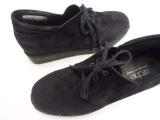 Arche Made in France Black Leather Oxford Shoes Size 7