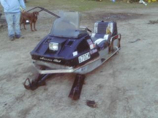 Vintage 1972 Arctic Cat 399 Panther Snowmobile for Parts or Restore