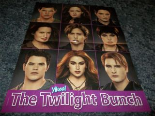 Stewart Robert Pattinson Ashley greene Yikes Poster clipping