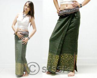 Sarong Cotton Long Casual Asian Spa Massage Women Ladies Girl