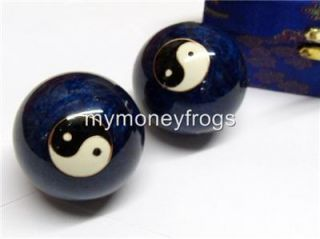 Chinese Oriental Asian Ying Yang Stress Exercise Massage Balls New