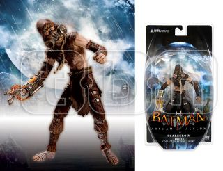 is the SCARECROW collector action figure from BATMAN ARKHAM ASYLUM