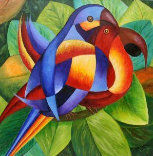 My Brazil Original Acrylic Painting Modern Art Sig