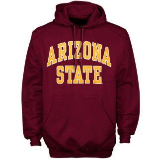 Arizona State Sun Devils Maroon Bold Arch Pullover Hoodie Sweatshirt