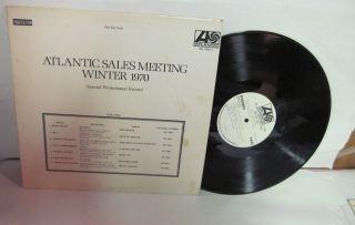 atlantic sales meeting winter 1970 white label promo