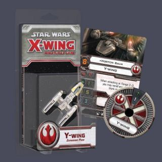 STAR WARS X WING MINIATURES GAME Y WING EXP. PACK