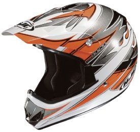 CL x4 Vapor Motorcycle Motocross ATV Off Road Helmet Youth L XL
