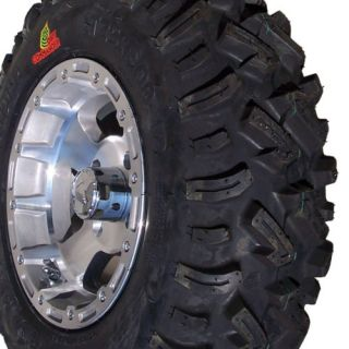 ATV UTV Mini Truck 8PLY Tires Aluminum Wheels Rims
