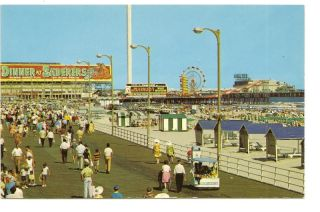 ATLANTIC CITY NJ Boardwalk Amusement Pier Wax Museum PC New Jersey