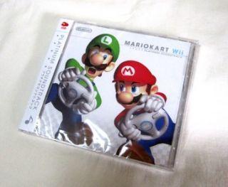 Club Nintendo Mario Kart Wii Platinum Soundtrack Unopen