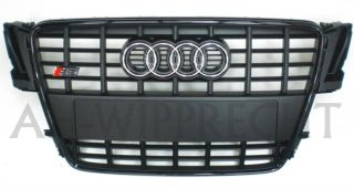 Audi S5 A5 8T RS5 Grill Kühlergrill Black Edition A5 Sportback Gitter