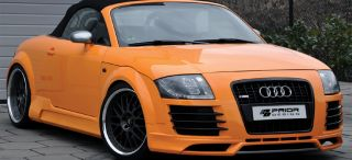 AUDI TT MK1 8N 98 06, R8 STYLE FRONT BUMPER, GRILL AND LIP BODY KIT