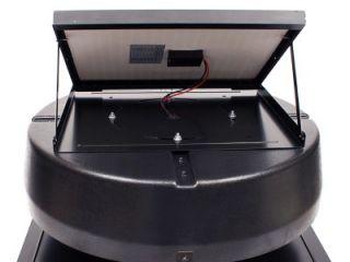 us sunlight solar powered attic fan 1010tr new