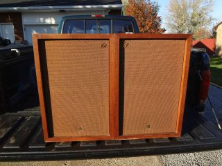 Vintage Audio Pioneer CS 61 Speakers Very RARE Large Floor 1960s Mid