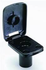 Attwood Flush Mount W/Cover Pro Series Rod Holder White #5023 7