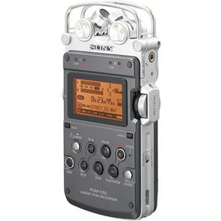 Sony PCM D50 Professional Stereo Audio Recorder 027242720831