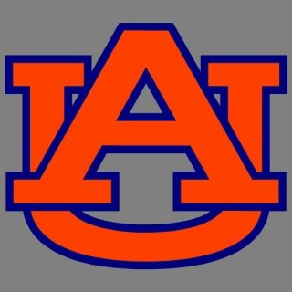 Auburn Tigers 4 AU 2 Color Auto Window Stickers Decals