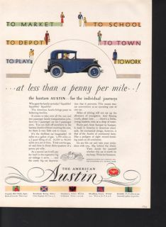 austin product s bantam automobile city town state butler pa owner n