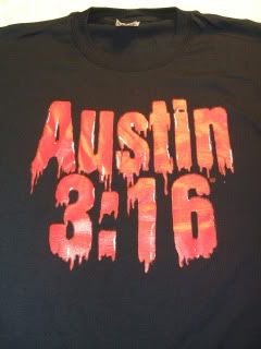 Stone Cold Steve Austin Blood from A Stone T Shirt New
