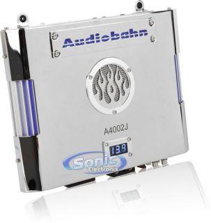 Audiobahn A4002J 500W 2 Channel Intake Series Power Car Amplifier Amp