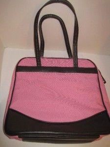 MiMi Large Pink Scrapbook Messenger Travelmate ScrapTote Bag