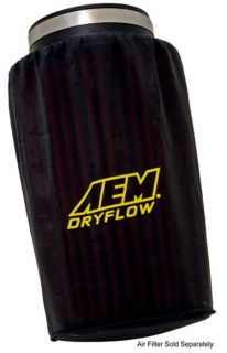 aem dryflow pre filter air filter wrap image shown may vary from