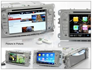 Android 4 0 Car DVD Player for Ford Focus s Max Mondeo GPS 3G WiFi DVB
