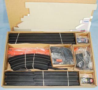 Scale Big D Stocker Challenge Slot Car Racing Set #9950 Box Contents
