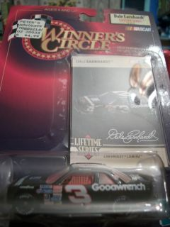 Circle Dale Earnhardt Trading card and Car Lifetime Serie Collectibles