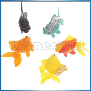 superstore 5pcs vivid plastic artificial fish ornament decor for fish
