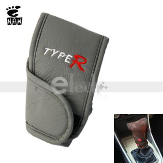 Fashion Khaki Automatic Car Shift Knob Cover Protector