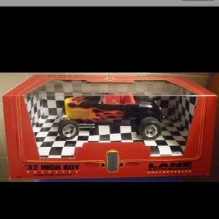 18 1932 Ford High Boy Roadster Lane Automotive Le Black RARE