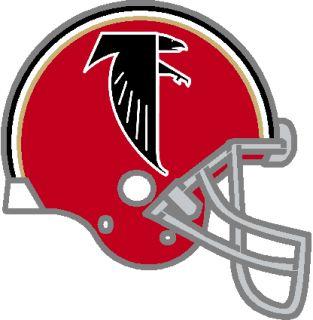 Atlanta Falcons NFL Throwback Logo 1966 1969 2 Patch