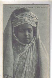 Petite Fille de Bou Saada Arab Child Costume Postcard