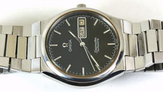 Genuine**** Omega Automatic DAY DATE STEEL MEN BRACELET WATCH