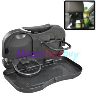 Car Auto Tray Food Table Desk Stand Drink Cup Holder