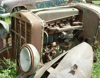 1929 Franklin Parts Car or Rat Hot Rod Project Rough