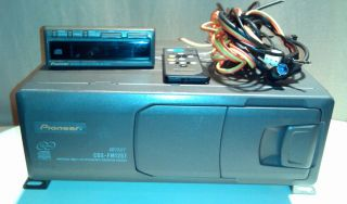 Pioneer 12 disc car truck auto CD Changer CDX FM1257 With Display Unit
