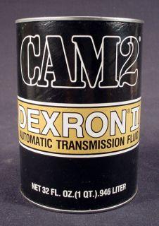 CAM2 DEXRONII QUART AUTO TRANSMISSION FLUID CAN BANK